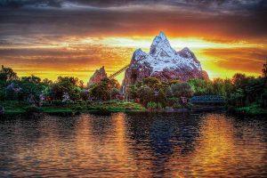 Disney's Animal Kingdom at Sunset
