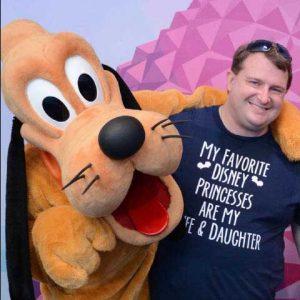 Disney Travel Agent Dustin Stanley