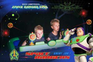 Kids on Disney Ride