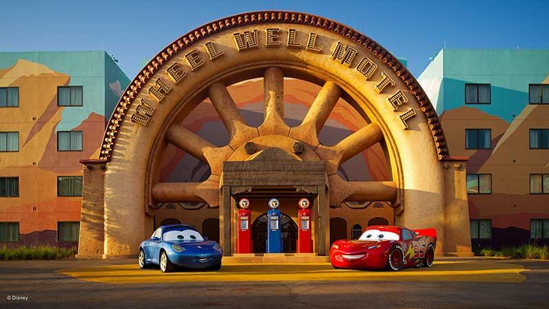 Wheel Well Motel at Art of Animation