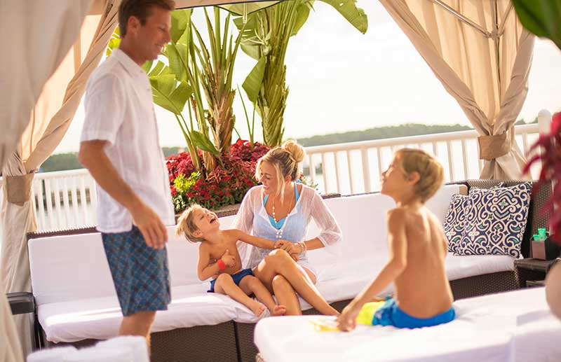 Cabanas at Contemporary Resort