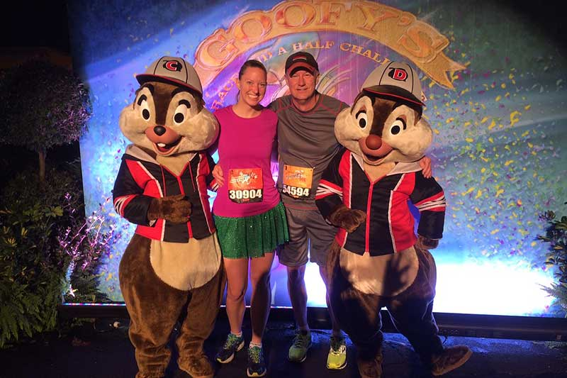 runDisney Character Photo