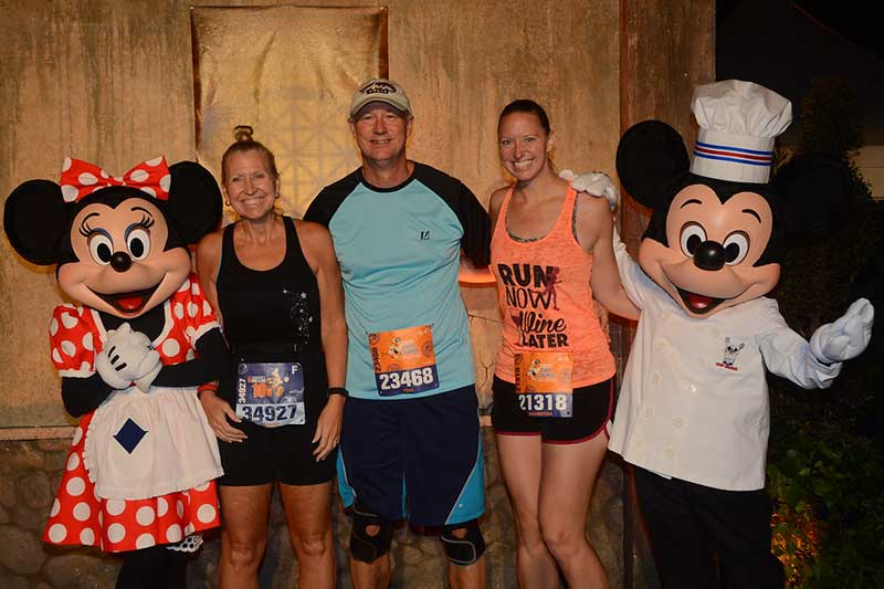 Mader Family Photo at runDisney Race