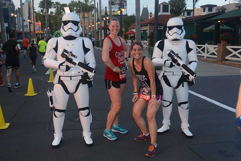runDisney Photo with Stormtrooper