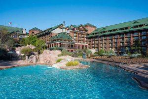 Disney Deluxe Luxury Wilderness Lodge Resort