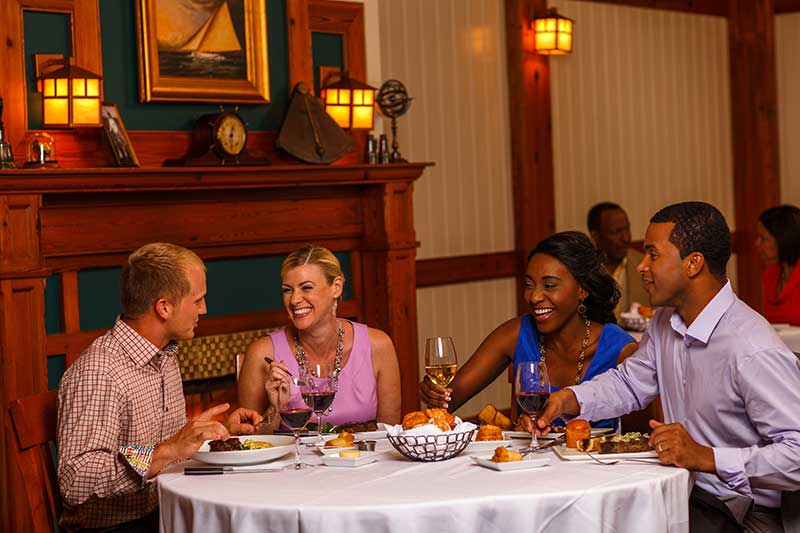 Dining at Yachtsman Steakhouse